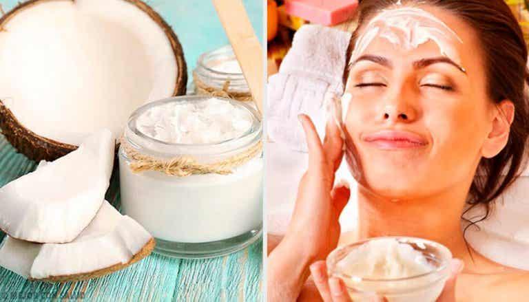 Benefícios do óleo de coco na estética