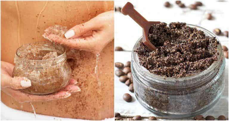 Como preparar creme de café e óleo de coco para atenuar estrias