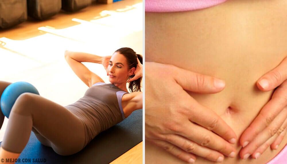 6 exercícios com uma cadeira para tonificar o abdômen em três semanas