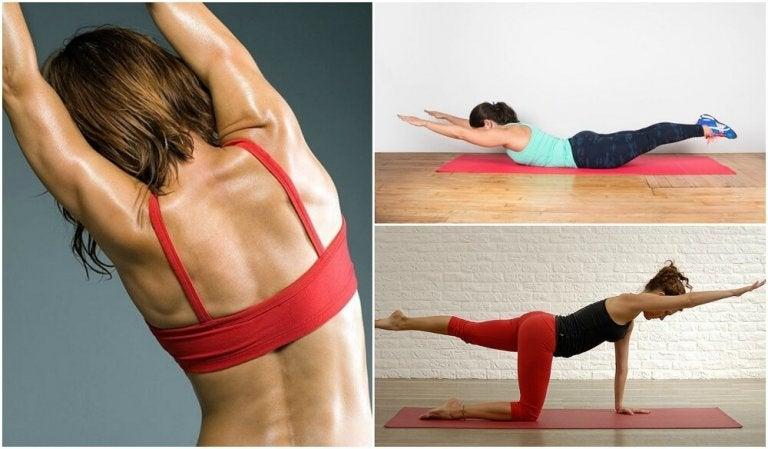 Como fazer 5 exercícios sem pesos para as costas
