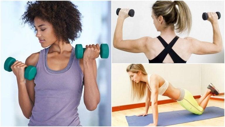 5 exercícios para moldar os braços sem ir à academia