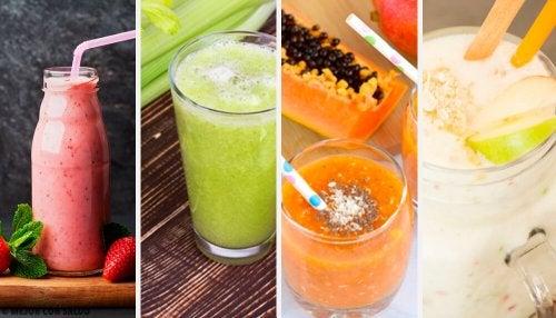 Experimente essas 4 batidas depurativas, deliciosas e saudáveis