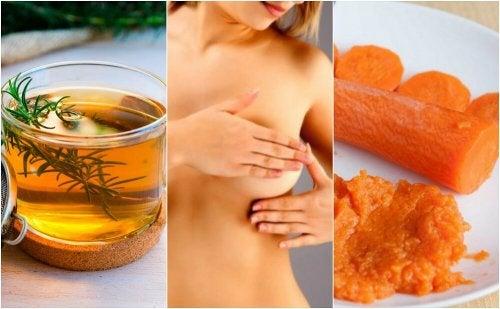 6 tratamentos de origem natural para aliviar a mastite