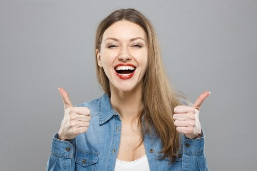 O otimismo é um dos sinais de uma personalidade forte