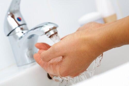 Lavar bem as mãos previne a gastroenterite