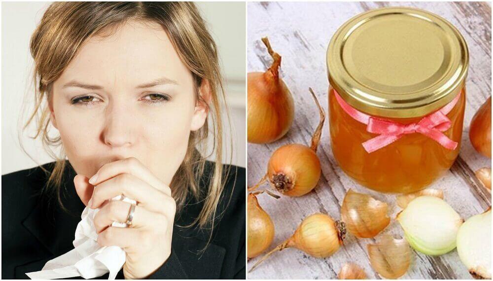Como preparar um remédio de mel e cebola para acalmar a tosse