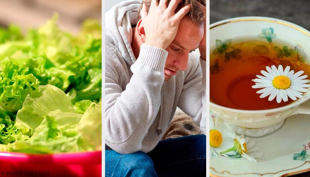 8 remédios naturais que controlam a ansiedade nervosa