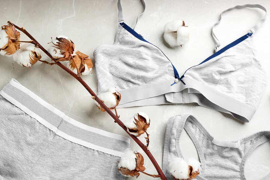 Roupa íntima de algodão para evitar infecções urinárias