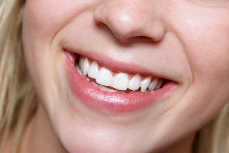 Dentes fortes e saudáveis