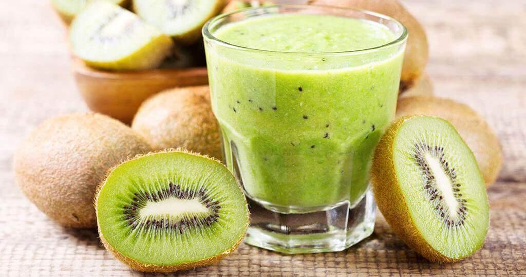 Suco de kiwi