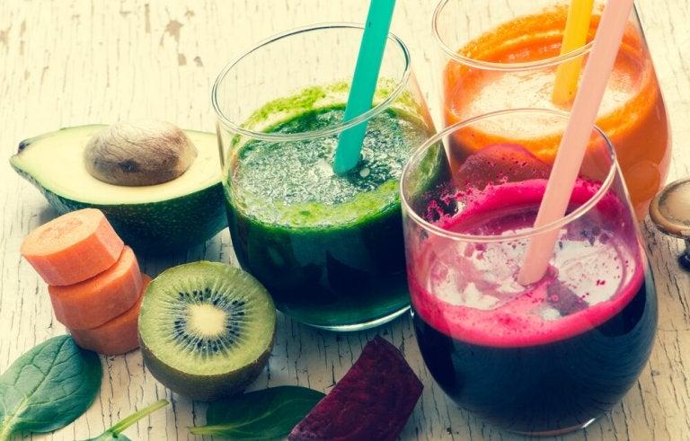 Sucos de vegetais para você se recuperar depois de cometer excessos