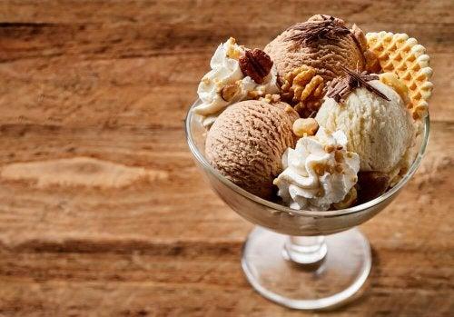 Taça de sorvete