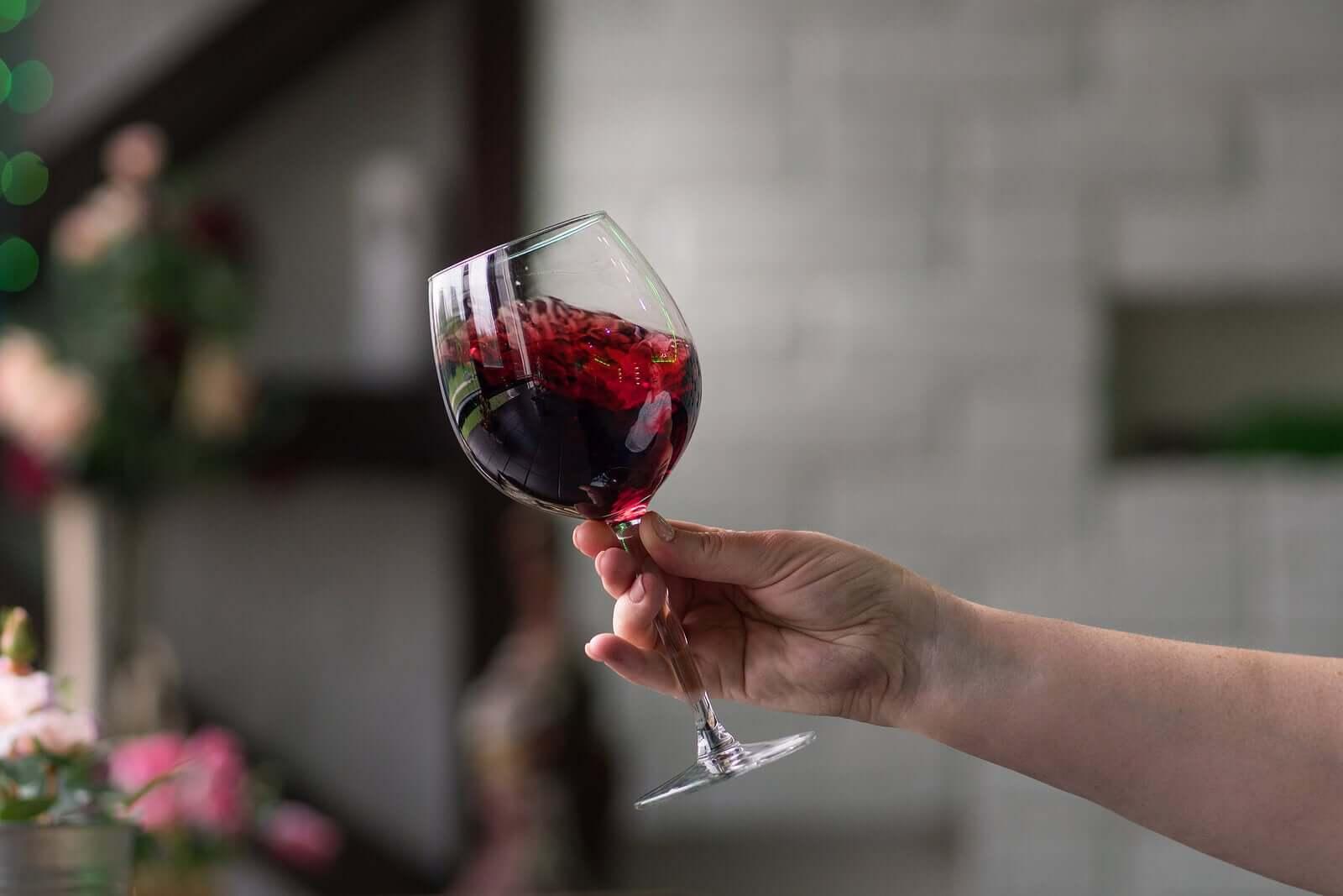 razões para beber vinho tinto