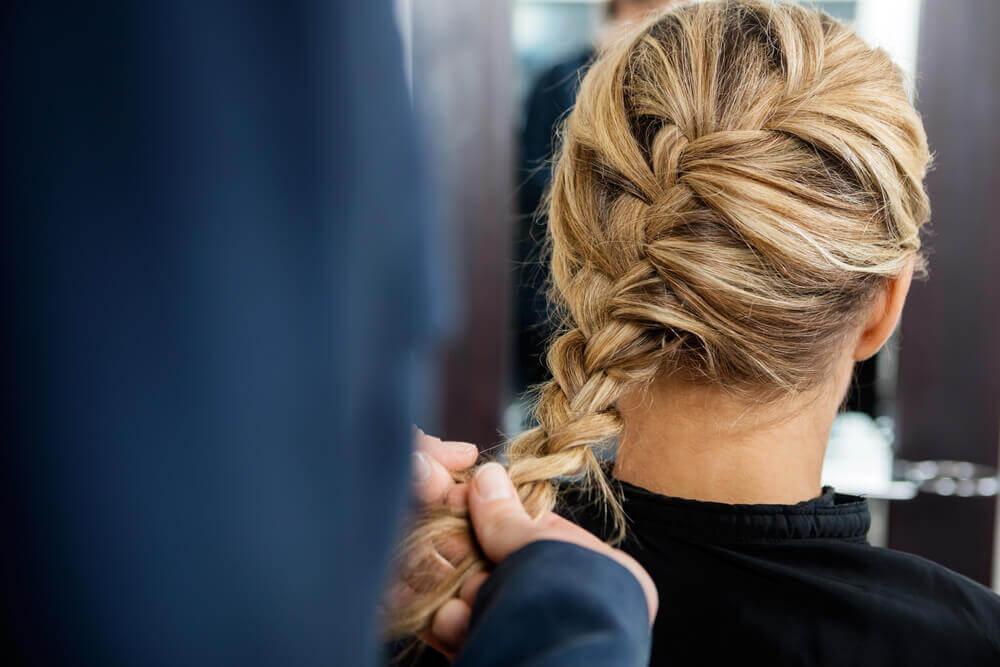 penteados fáceis com tranças