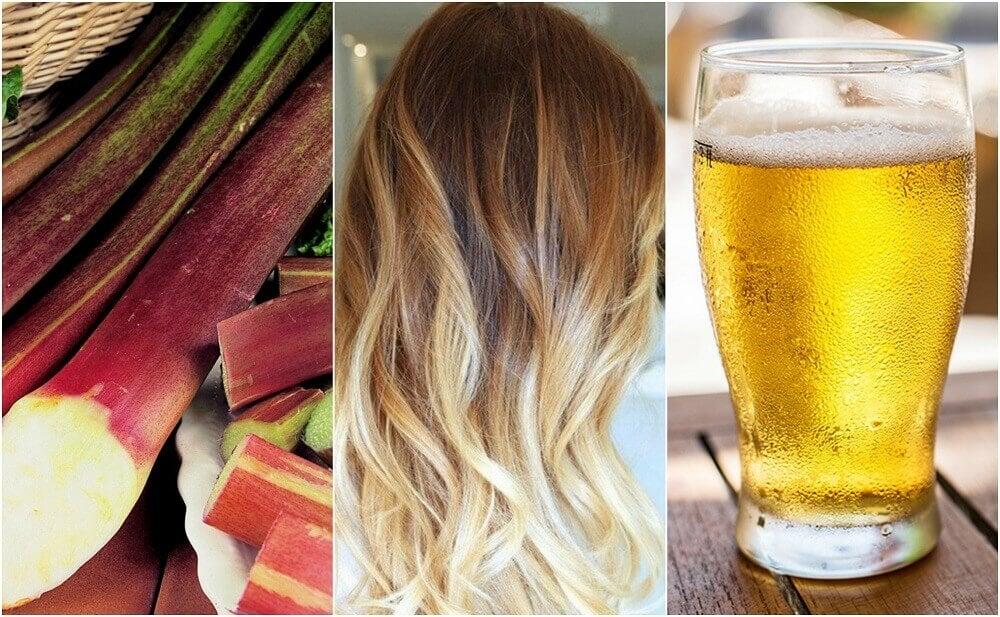 Você quer clarear seu cabelo? Descubra 5 maneiras de fazê-lo naturalmente