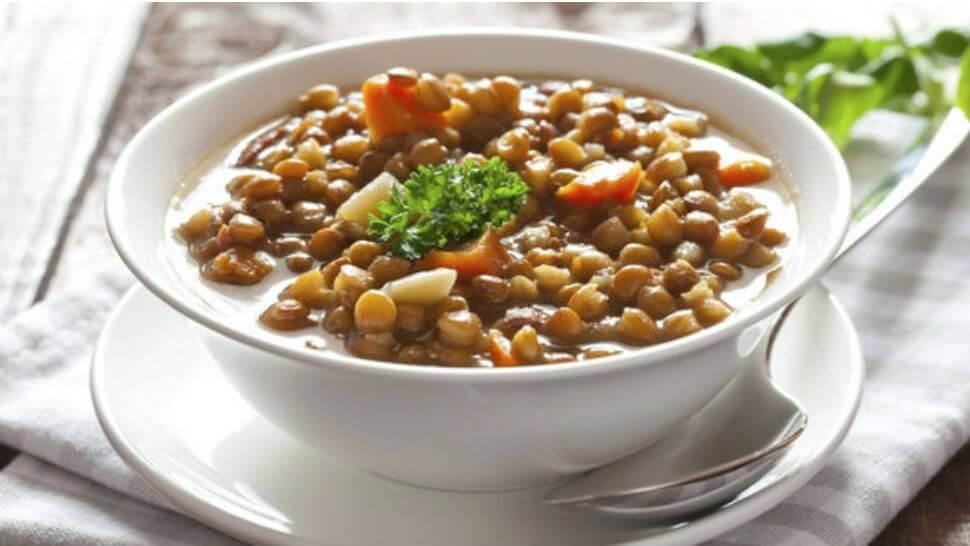 Sopa de lentilha