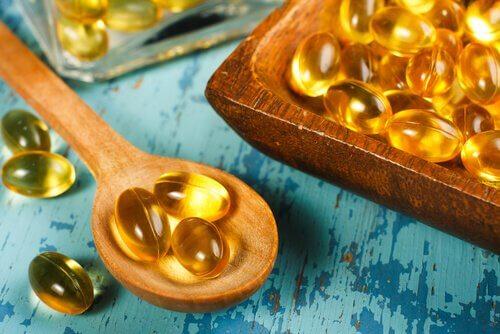 Cápsulas de vitamina E
