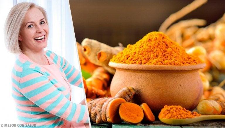 7 benefícios da cúrcuma na menopausa e na pós-menopausa