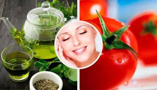 8 alimentos que melhoram a saúde da pele