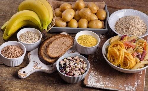 8 alimentos ricos em carboidratos