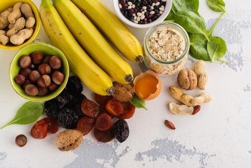 Alimentos que fornecem mais potássio
