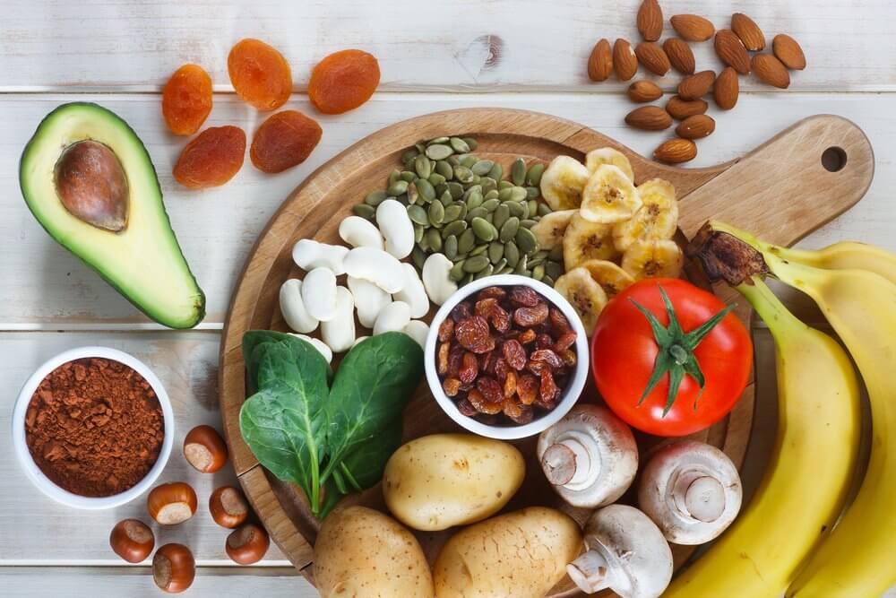 Alimentos ricos em potássio