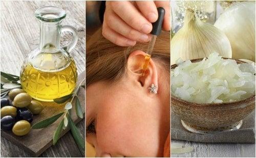 Remédios naturais para aliviar a dor de ouvido