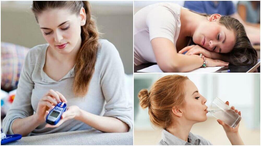 Quais são os 8 sintomas iniciais da diabetes?