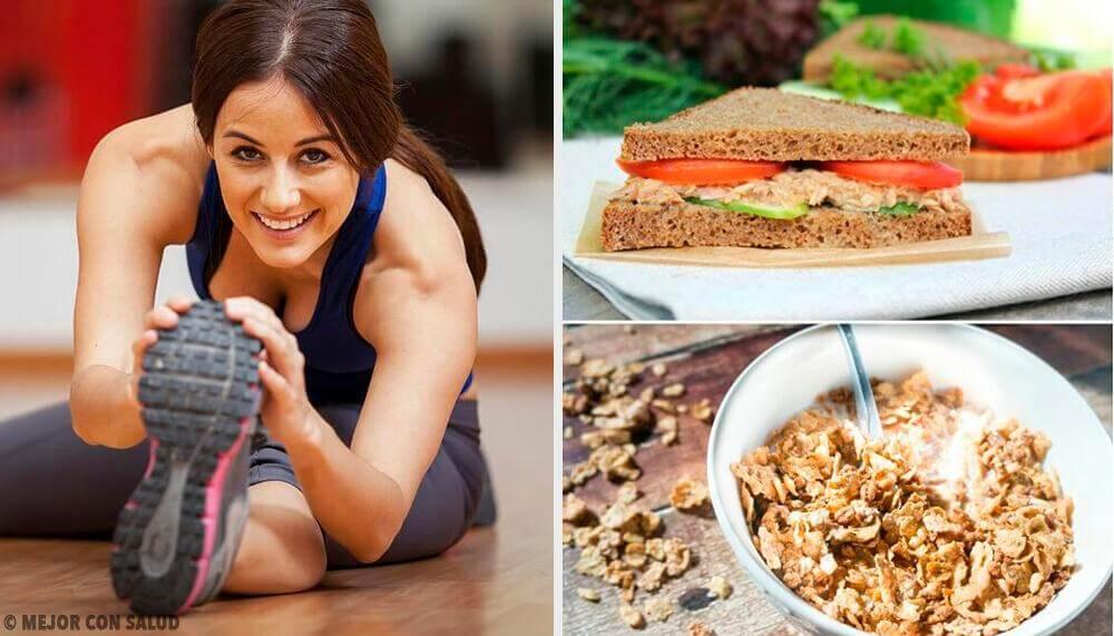 7 opções de café da manhã antes de fazer exercícios