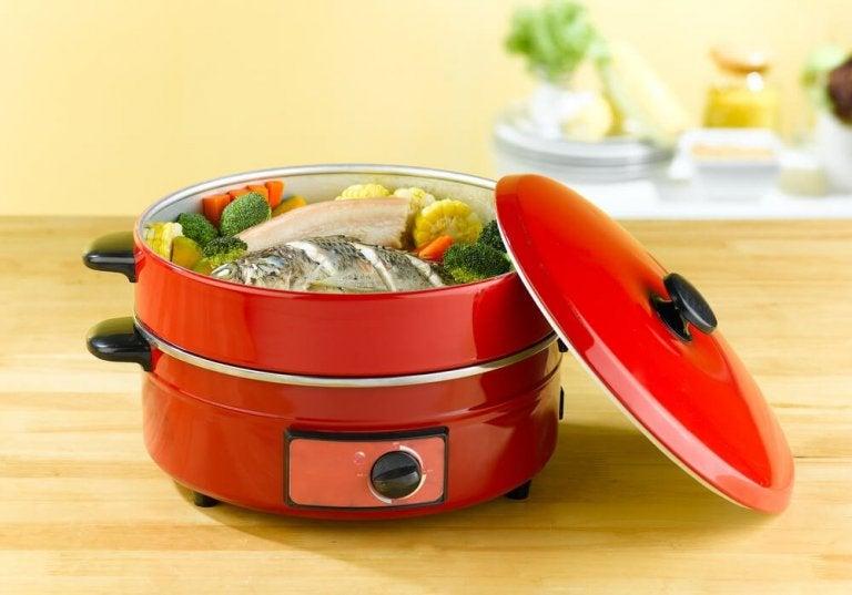 Quais são os benefícios da cozinha a vapor?