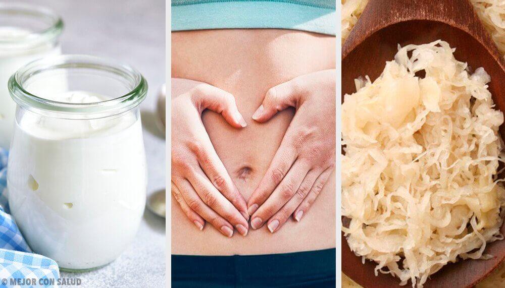 Alimentos probióticos para a sua flora intestinal