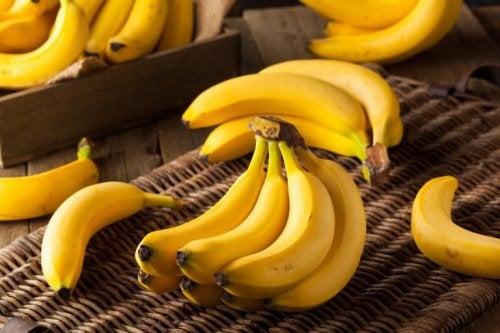 Cachos de bananas