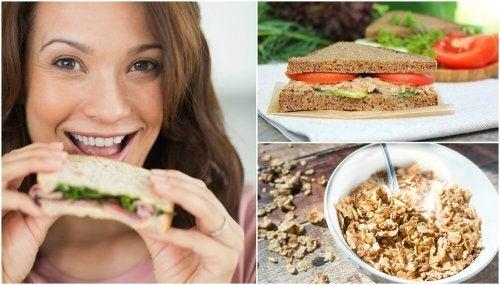 5 cafés da manhã saudáveis para começar o seu dia com energia