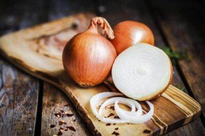 Cebolas são vegetais ricos em cálcio