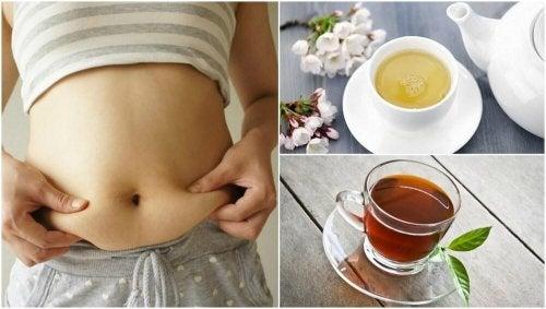 5 deliciosos chás para perder peso