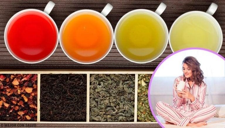 Os 5 melhores chás para dormir tranquilamente