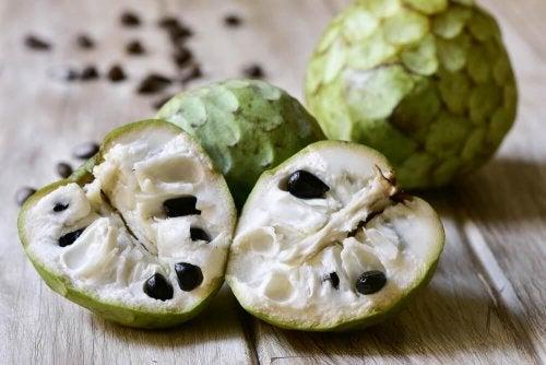 A cherimonia é um dos alimentos que fornecem mais potássio