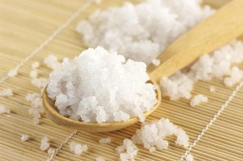 Colher de sal grosso