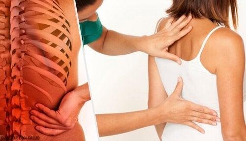 Como o estresse afeta a coluna
