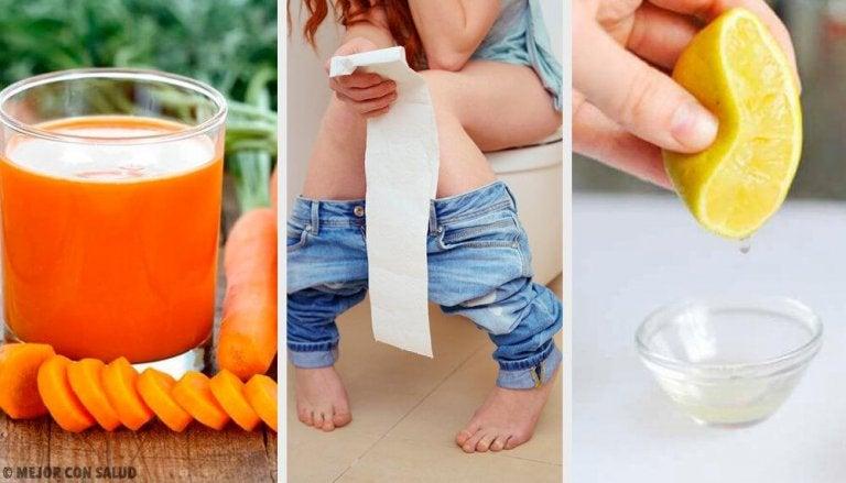 Como combater a diarreia