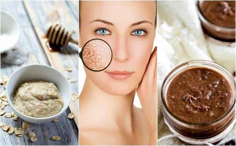 Como preparar máscaras naturais para a pele seca
