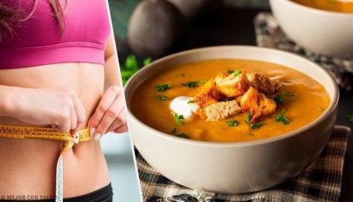 Descubra uma incrível sopa para queimar gorduras