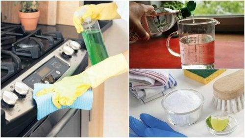 Como desengordurar o fogão com 5 soluções ecológicas