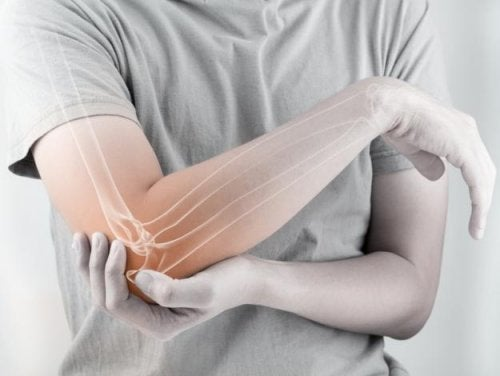 Dor no cotovoelo pela artrite reumatoide