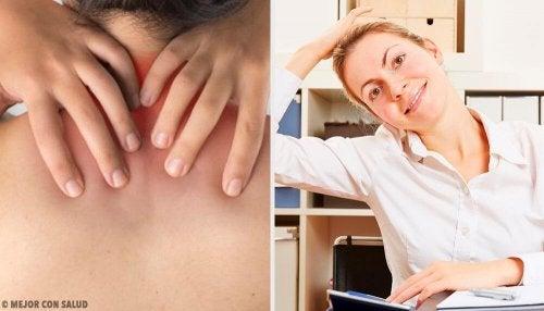 6 exercícios simples para aliviar a dor no pescoço