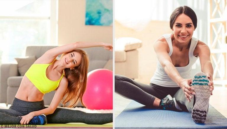 8 exercícios fáceis para fazer em casa