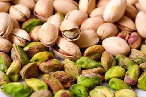 Frutos secos: pistache