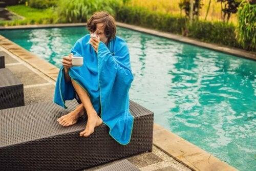 Sintomas de afogamento após a natação