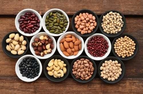 Quais são os nutrientes das leguminosas?