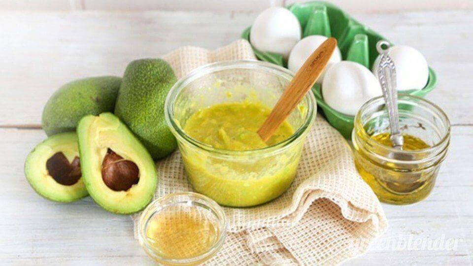 Abacate e óleo de gérmen de trigo
